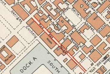 Historique rue des Belges à Sfax