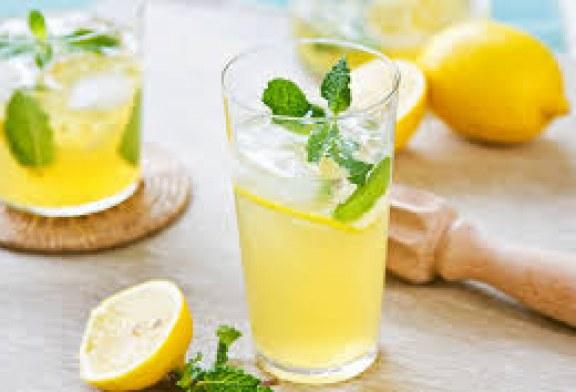 عصير الليمون المركز (دون طهي)