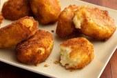 كرات البطاطس المقلية بالجبنة